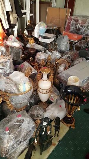 Генпрокурор показав коштовності, виявлені під час обшуку в будинку Клюєва