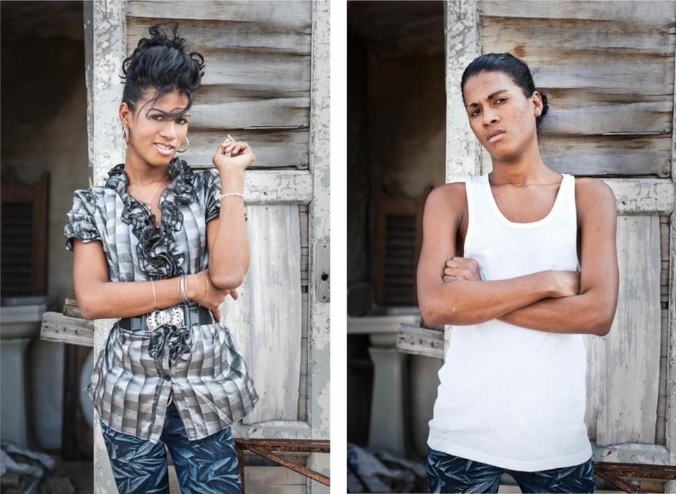 Фото до и после транссексуалы снял трассе проститутку