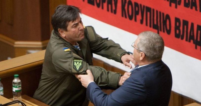 Бійка між Юрієм Тимошенком та Олександром Вілкулом