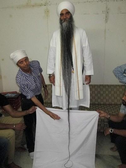 Самая длинная борода.