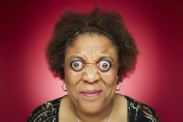 Жительница США Ким Гудман в состоянии выпучивать свои глаза из глазниц на целых 12 миллиметров.