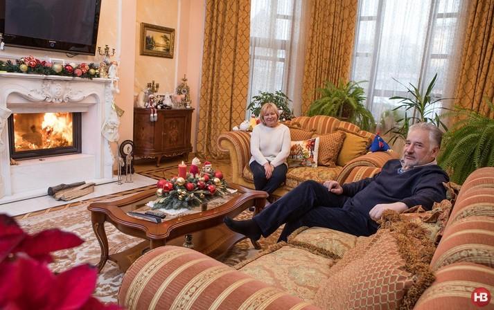 Жебрівський показав триповерховий будинок в Києві (ФОТО)