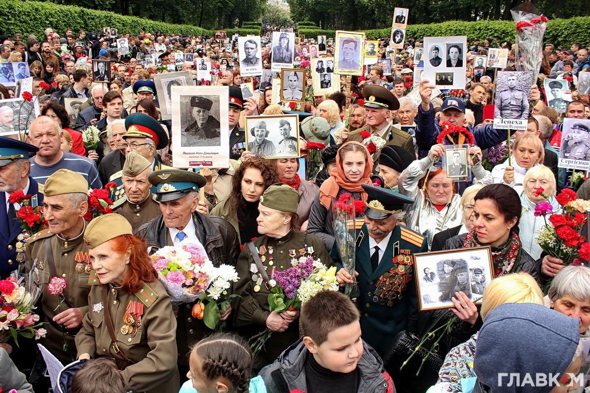 В массовых акциях на День Победы по всей стране приняло участие около 600 тысяч людей, - МВД - Цензор.НЕТ 6602