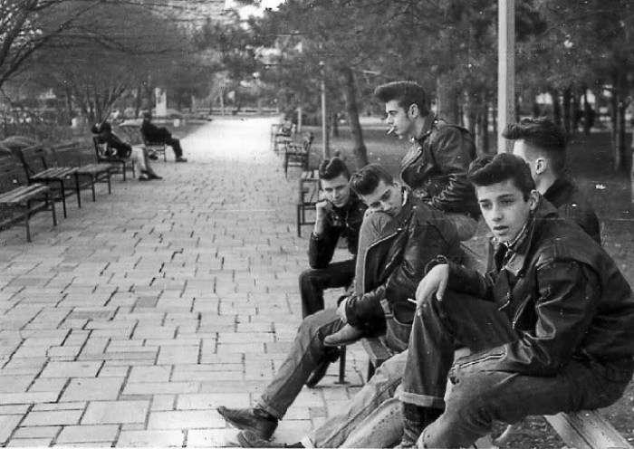 Банда выходцев из простых рабочих семей Нью-Йорка, 1950 год