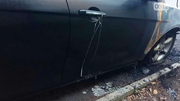 Директору Миколаївського автовокзалу спалили авто