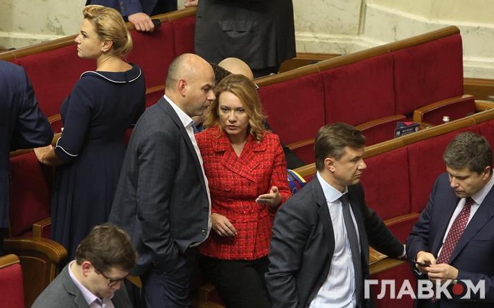 Депутат від БПП Ольга Бєлькова