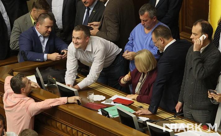 Один з героїв останніх днів «свободівець» Юрій Левченко