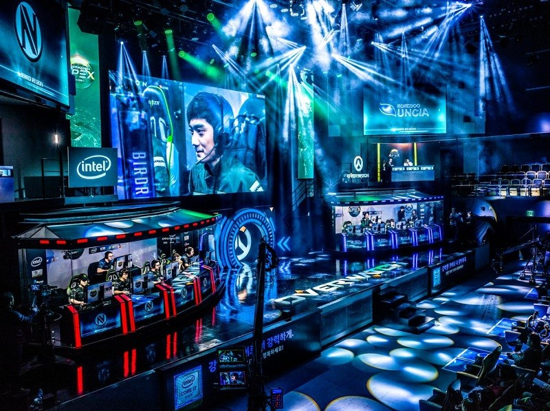 Турнир по Overwatch в Сеуле — столице мирового киберспорта.