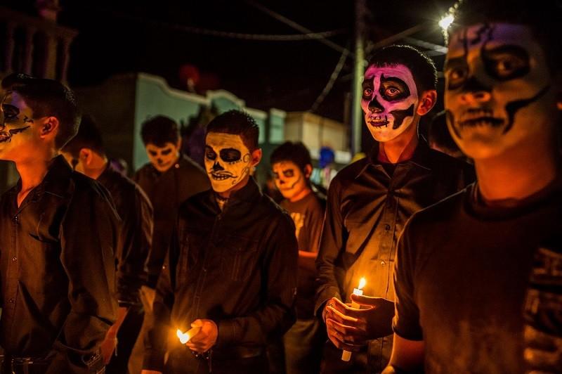 День мертвых в Мексике.