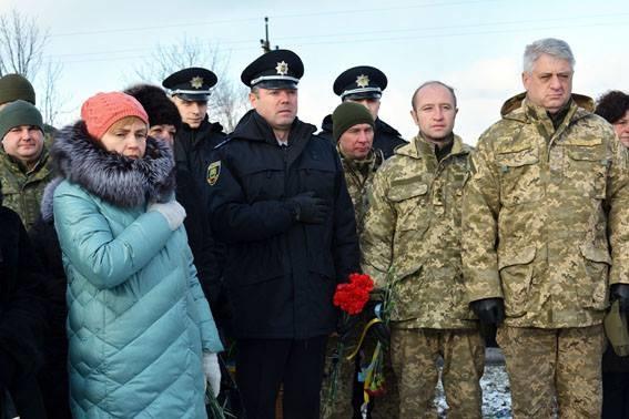 Поліція Донеччини вшанувала пам'ять жертв теракту під Волновахою (фото)