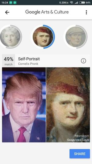 «Двойники» на картинах: Google показал, на кого похож Порошенко
