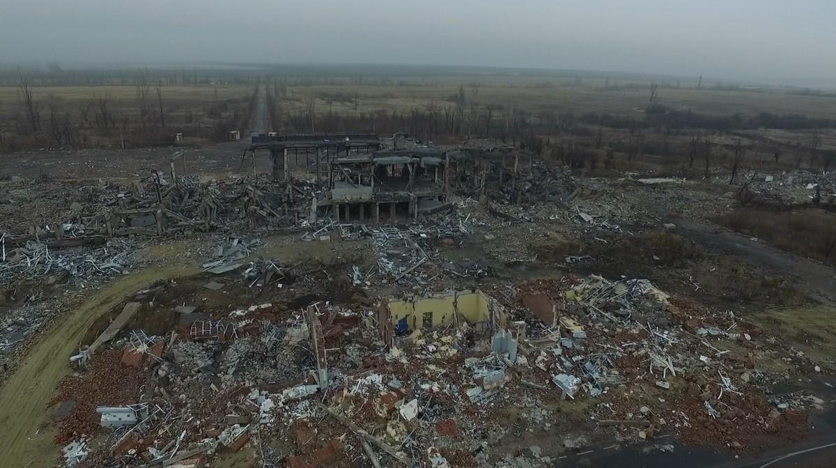 Так виглядав Луганський аеропорт в 2014 році