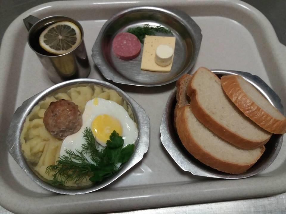 Армейские завтраки фото