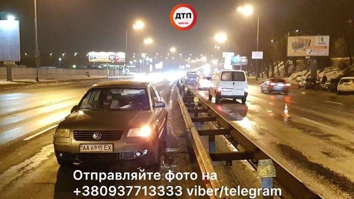 У Києві автівка збила нацгвардійця, який кинувся на допомогу збитому пішоходу