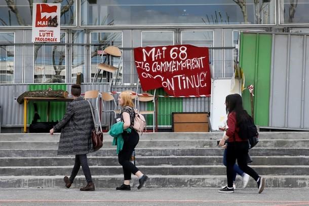 Студенти у Франції заблокували університет