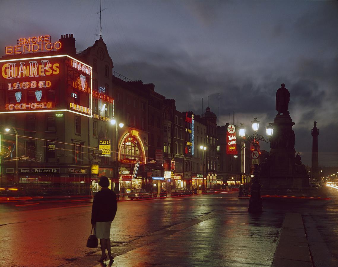Дублин ночью. Автор фото: Эдмунд Нэгеле.
