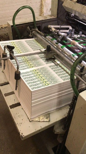 Арештовано 11 ділків, що організували масштабне виробництво підроблених акцизних марок