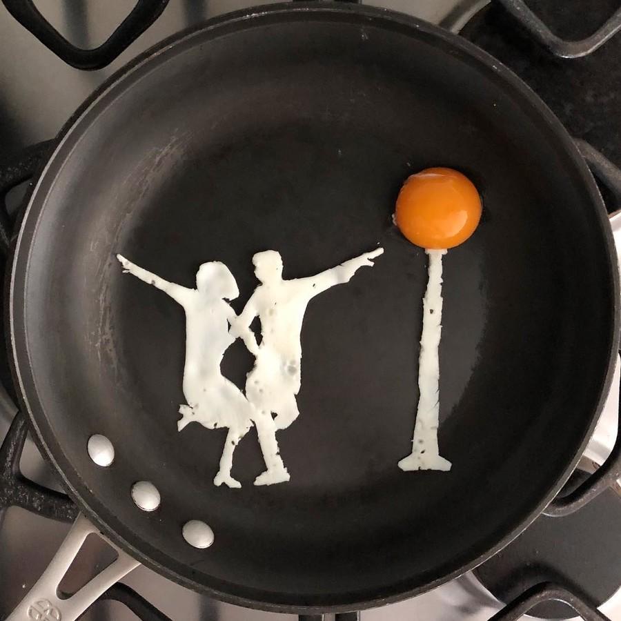 Картинка прикольная завтрак, открытки для
