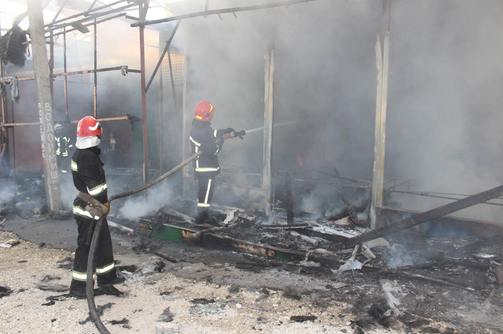 На ринку у Хмельницькому сталася пожежа - Главком 7680ec4948d61