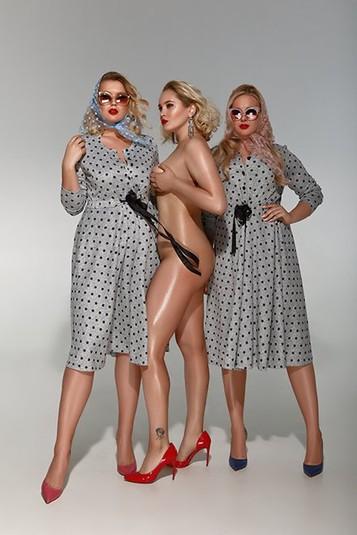Украинский дизайнер Андре Тан запустил новую коллекцию для пышных красавиц