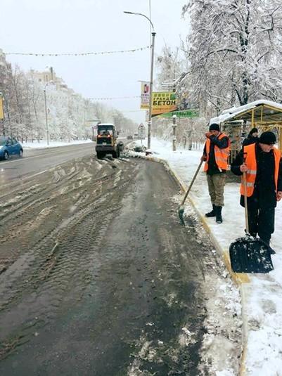 «Укравтодор» звітував про ситуацію на дорогах країни