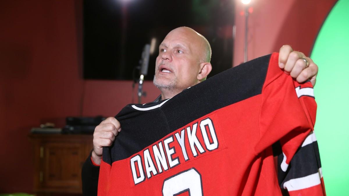 Кен Данейко, триразовий володар Кубка Стенлі в складі «Нью-Джерсі Девілз»
