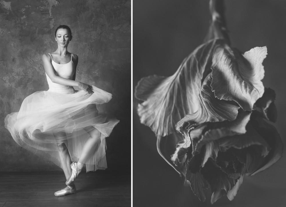 Для, картинки балерина и цветы