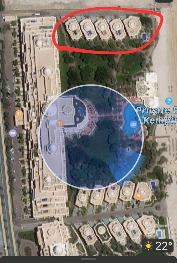 Глава Конституційного Суду Тупицький орендував у Дубаї королівську віллу за 300 тис. грн на добу. Фото