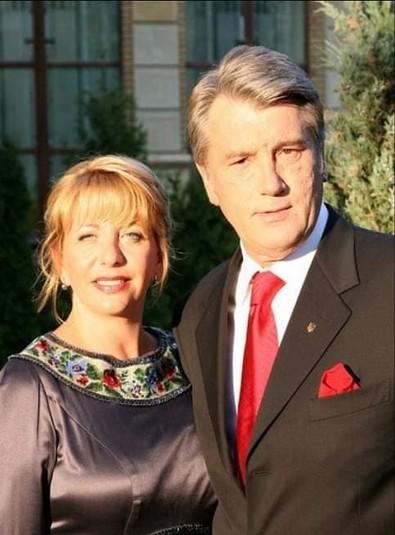 Ющенко ніжно привітав «кохану Катю» із 60-річчям