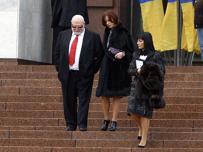 Музыкант и депутат ПР Ян Табачник с супругой Татьяной Недельской