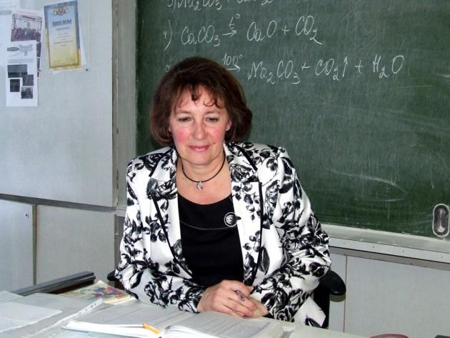 Классный руководитель Валентина Пономаренко, школа №122