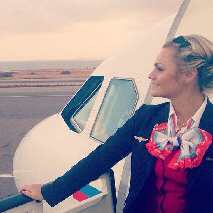 Фото самых красивых стюардесс 1 фотография