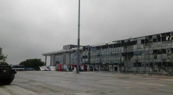 Новейший донецкий аэропорт фото 4