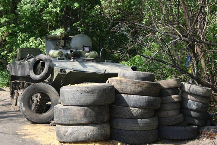 В Славянске уничтожен украинский блок-пост. Почему молчит Киев?