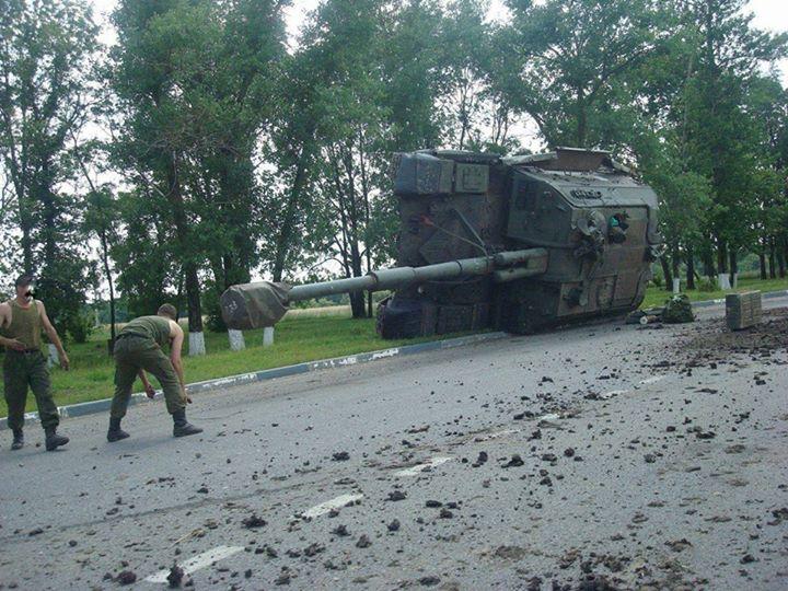 Россия продолжает поставлять военную технику боевикам. Наибольшая активность зафиксирована на ростовско-донецком направлении, - СНБО - Цензор.НЕТ 1483