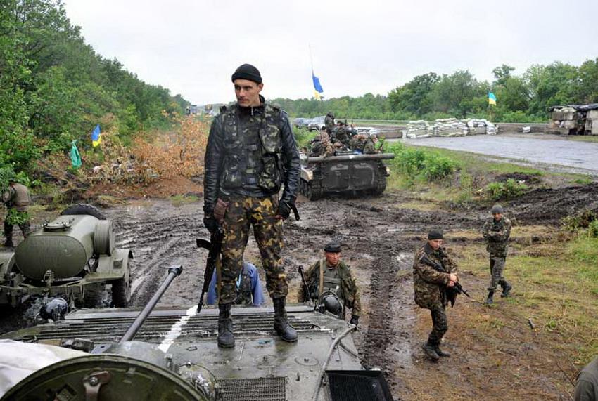Фоторепортаж с войны как украинская