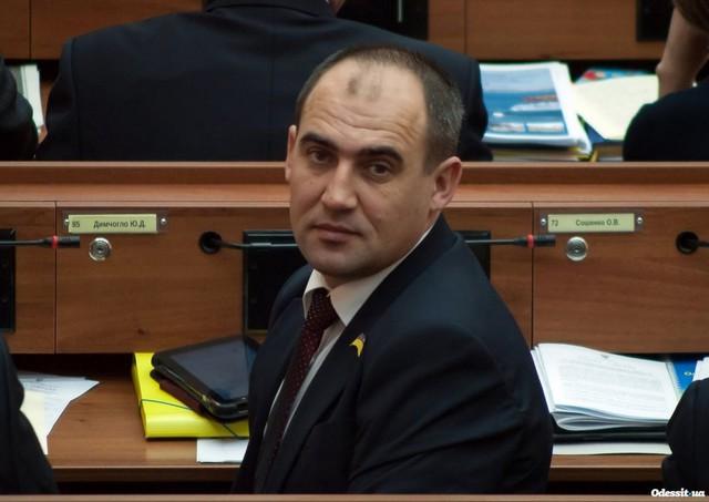 Депутат Одесского областного совета Юрий Димчогло (фото: odessit.ua)