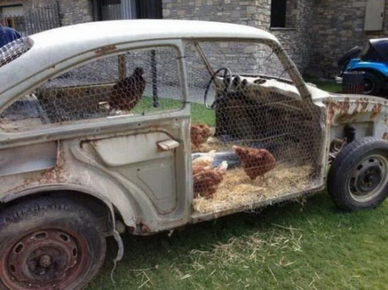 Hipster Backyard Chickens : These 13 Chicken Coops Are So Fancy Your Chickens Will Be Laying In