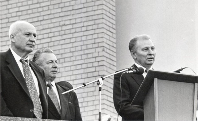Институционально СНБО оформился при президенте Кучме и секретаре Совета Горбулине (фото: space.com.ua)