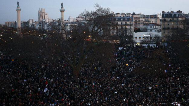 Марш памяти во Франции