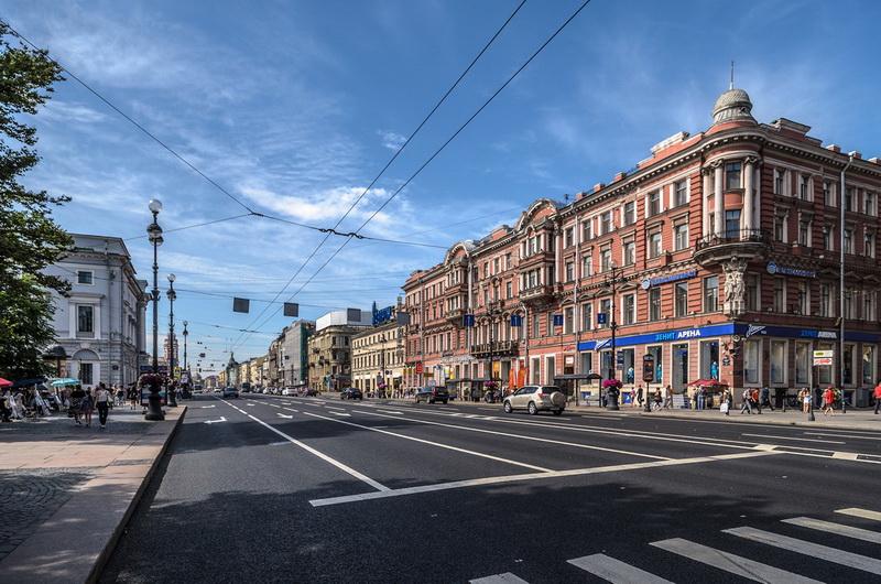 Россия санкт петербург невский