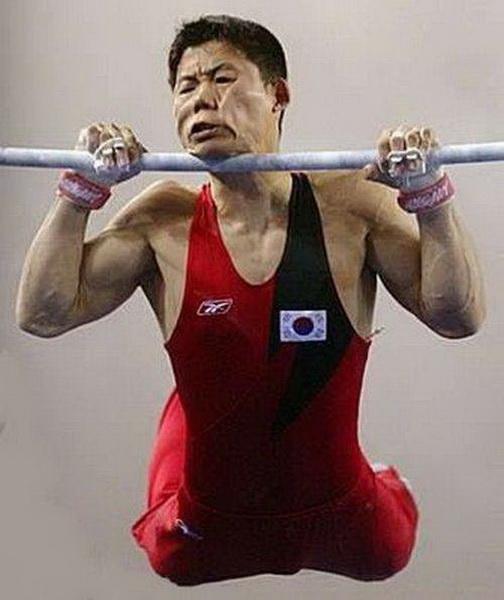 Курьезные кадры из мира спорта фото 33