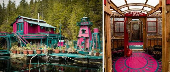 Жизнь на воде: пара потратила 20 лет, чтобы создать плавучий дом-остров (фото 3)