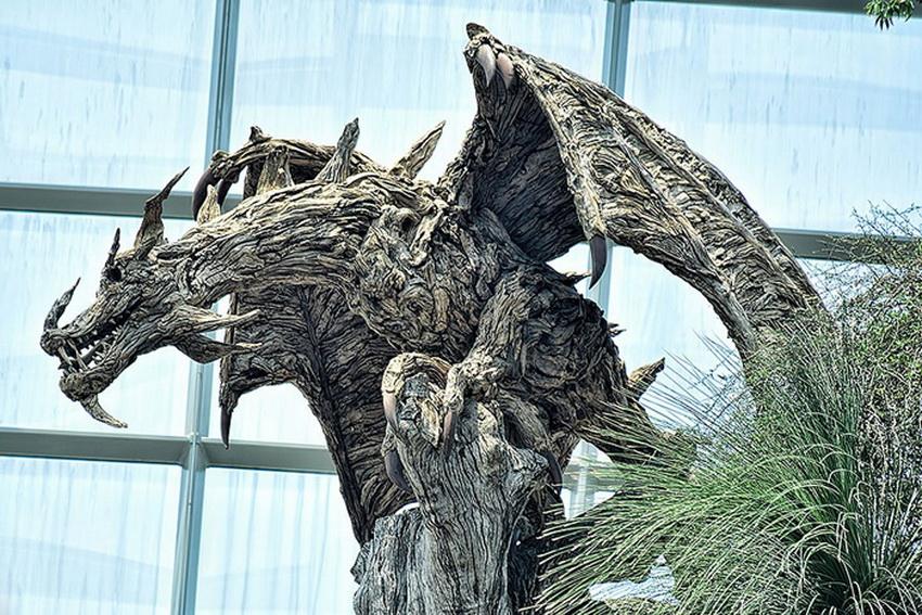 Завораживающие  скульптуры из коряг