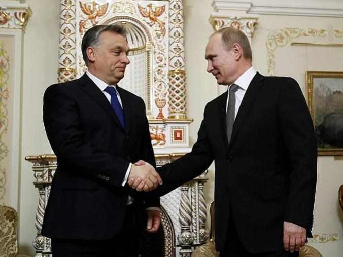 Орбан и Путин не скрывают взаимовыгодного сотрудничества