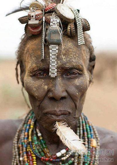 Пресс-секретарь вождя африканского племени в центральной Африке