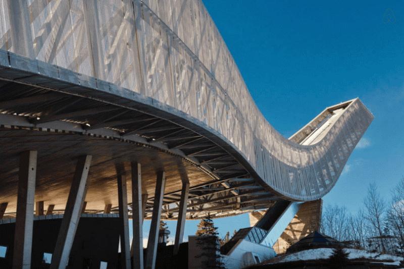 Пентхаус, расположенный в легендарном трамплине Норвегии (фото 3)