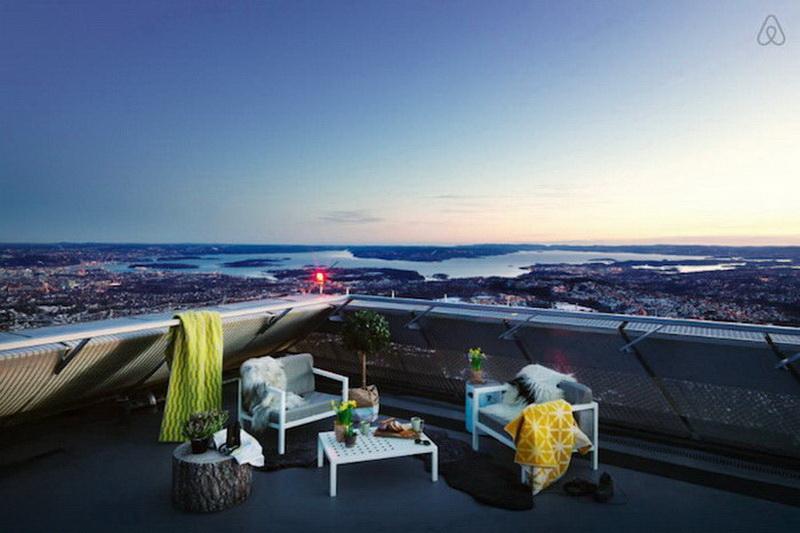 Пентхаус, расположенный в легендарном трамплине Норвегии (фото 6)