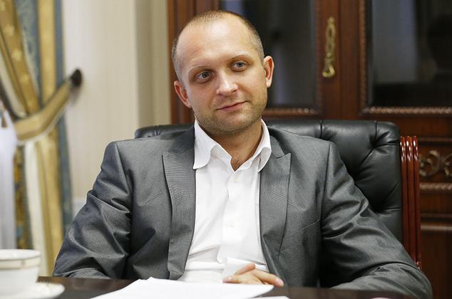 Негласный куратор МТСБУ от правительства нардеп Максим Поляков (фото: antikor.com.ua)