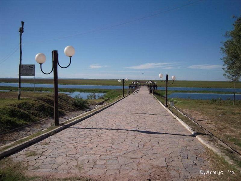 Эстрада Пуэтро Суарез — Боливия.  Этот мост сам по себе очень узкий, но он еще и интересен тем, что на нем проложены рельсы для поездов. Так что, если собрались проехать по нему на машине — убедитесь что поблизости нет поезда — и быстро, насколько позволяет шаткая конструкция, передвигайтесь на другой берег.